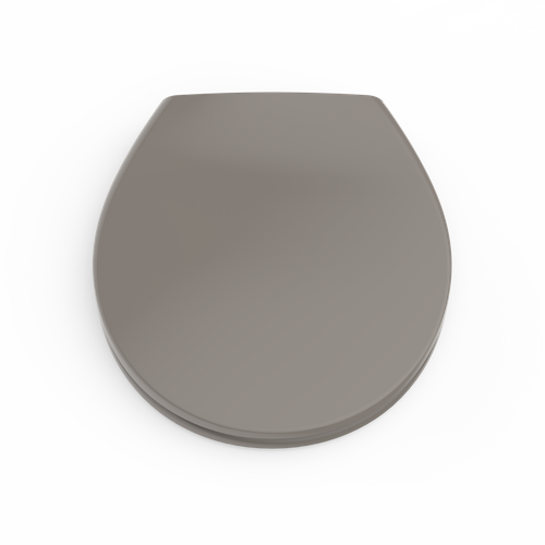 Aquazuro toiletzitting duroplast grijs