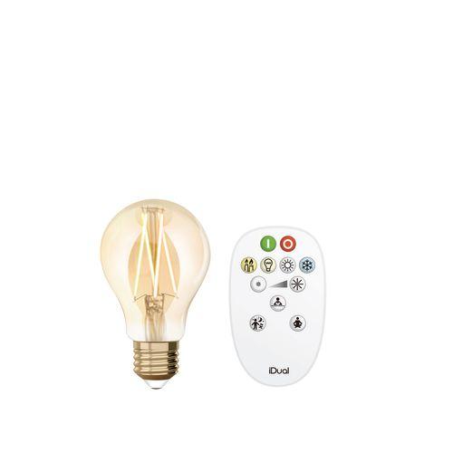 iDual led lamp Whites filament a60 E27 806lm
