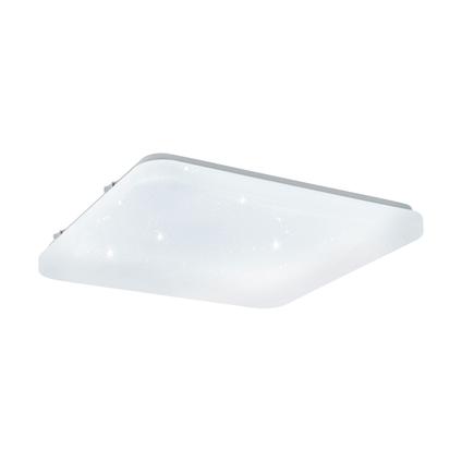 EGLO plafonnier LED Frania-S carré 17W