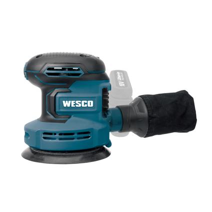 Wesco excentrische schuurmachine WS2996,9 Bare Tool + accessoires