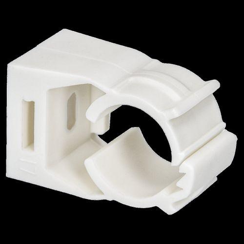 Sanivesk Seat avec du clip de montage blanc de 17mm (15mm WICU)