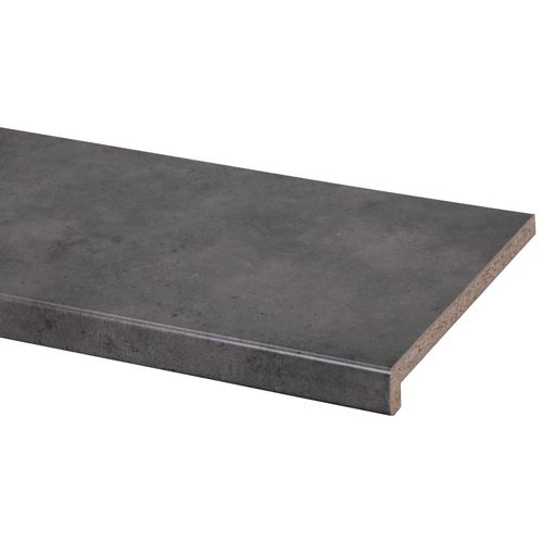 CanDo vensterbank spaanplaat 38mm donker beton 29x302cm