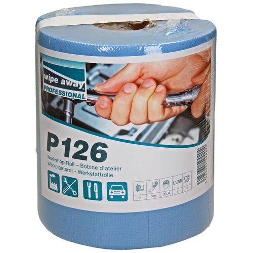 Onderhouds klusrol Wipe-away P126 dubbele dikte 65 cm
