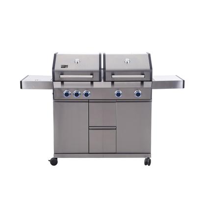 Barbecue au gaz BBQ& Friends Lancaster 17kW gris