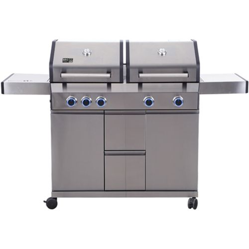 Barbecue au gaz BBQ& Friends Lancaster 17kW gris