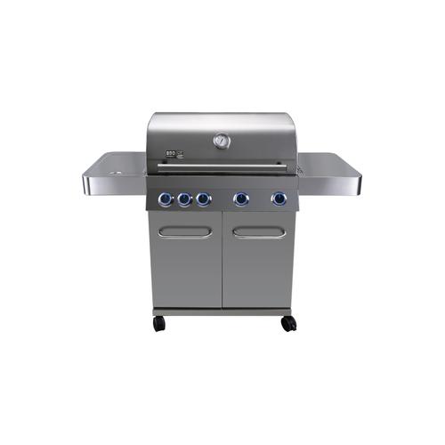 BBQ&Friends gasbarbecue Pasadena 17kW zilver