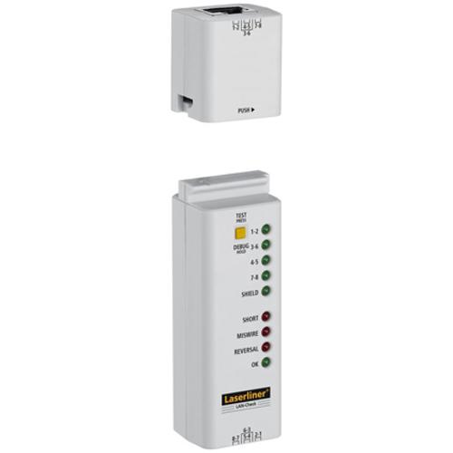 Laserliner LAN-kabel-verbindingstester LAN-Check