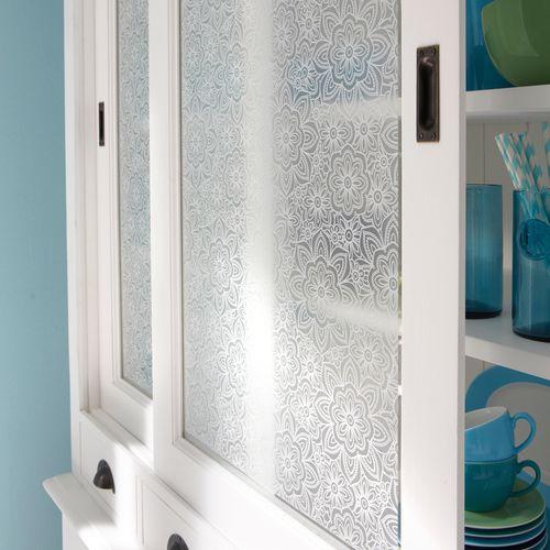 Transform statische glasfolie Romantic 90x150cm