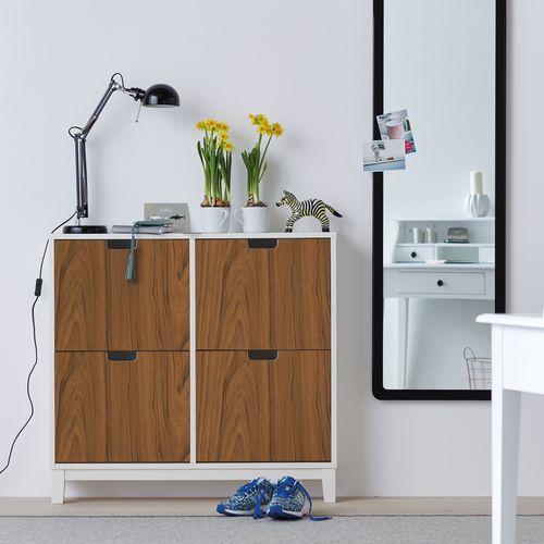 Transform film adhésif décoratif Walnut wood brun 45x200cm