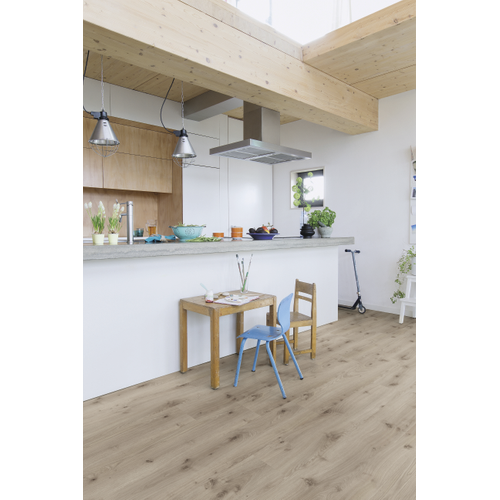 Quick-Step laminaat Calando Waterproof eik grijs 8mm 1,596m²