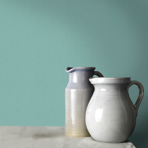 Papier peint intissé Decomode Basic cotton vert