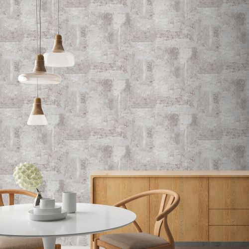 Papier peint intissé DecoMode Luxury Concrete gris