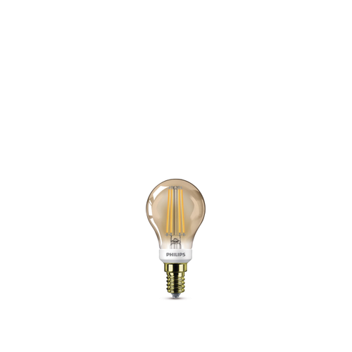 Philips LED-lamp LED classic E14 5W Ø4,5cm edison