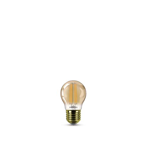 Philips LED lamp LED classic E27 5W Ø4,5cm edison