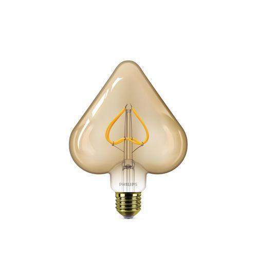 Philips LED-lamp Deco hart 2,3W E27