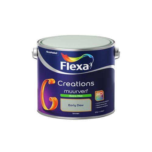 Flexa muurverf Creations extra mat early dew 2,5L