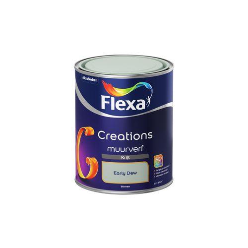 Flexa muurverf Creations krijt early dew 1L
