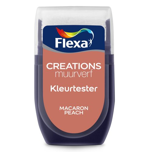 Flexa muurverf tester Creations macaron peach 30ml