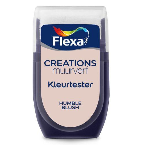 Flexa muurverf tester Creations humble blush 30ml