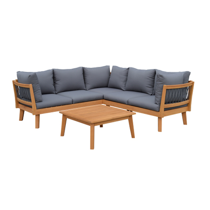 Central Park loungeset Mimizan 3stk hout - 2019 -