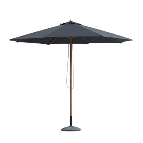 Parasol Central Park Joy anthracite 3m