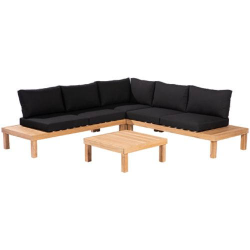 Central Park loungeset Guidel hout