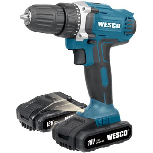 Wesco schroefboormachine WS2971K2 18V