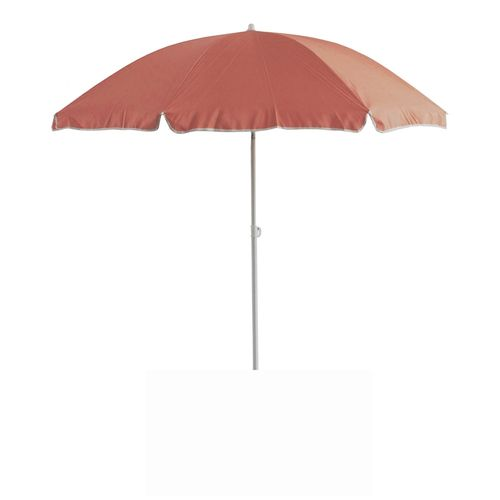 Parasol Central Park Beach rose saumon 2m