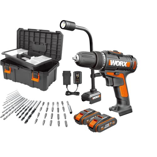 Worx accuboormachine WX977