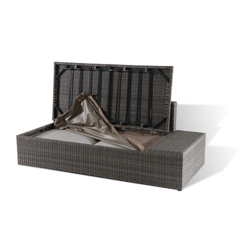 Central Park loungeset Eze wicker taupe