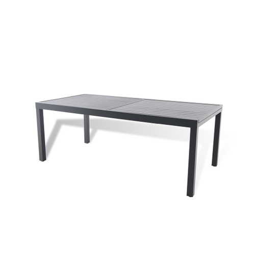 Table de jardin Central Park Romeo extensible aluminium 200/300x101cm