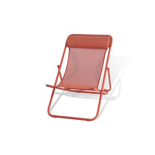 Central Park strandstoel Sevilla rood