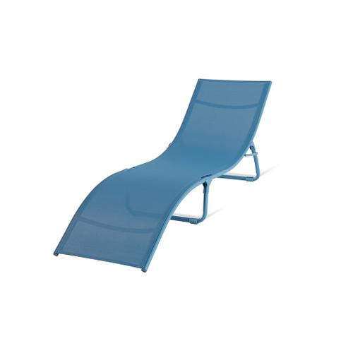 Central Park ligbed Wave opvouwbaar blauw