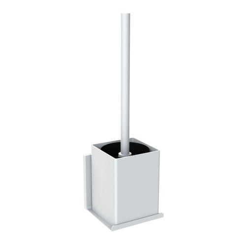 Allibert toiletborstel met houder Loft-Game wit mat