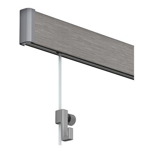 Duraline PHS Click Rail compleet aluminium geborsteld 200cm