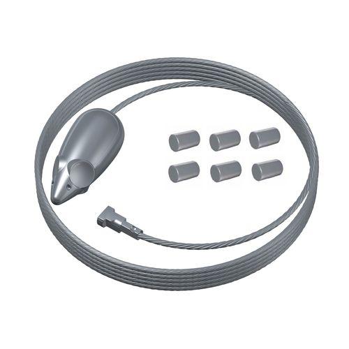 Duraline PHS staaldraad+6 magneten Click+Top+Up rail
