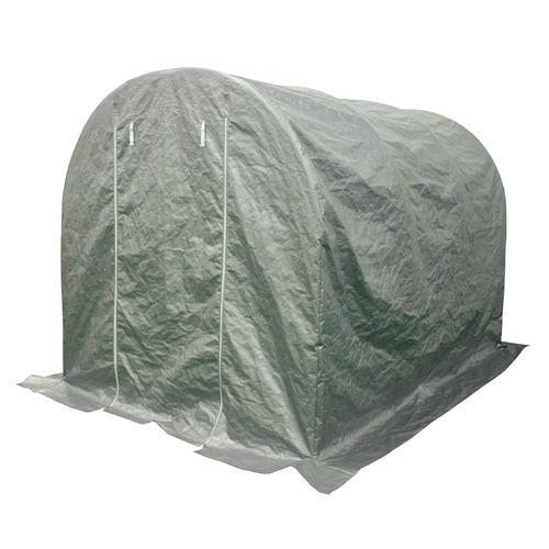 Bâche de stockage Central Park Hobby gris 300x200x200cm