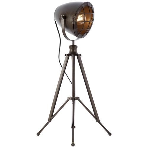 Brilliant tafellamp Anit zwart staal 40W