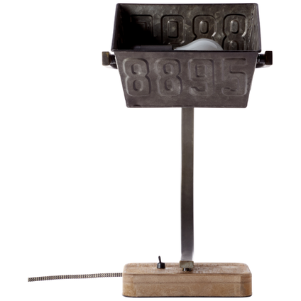 Lampe de table Brilliant Drake rouille 40W