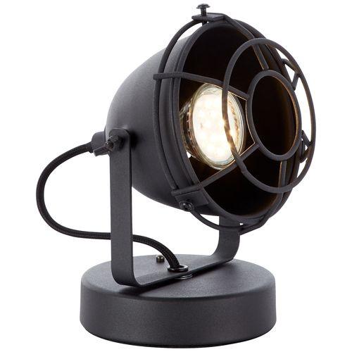 Brilliant tafellamp Carmen XS zwart 28W