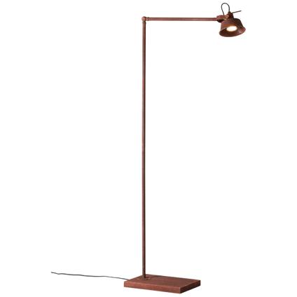Brilliant leeslamp Telma roest 4W