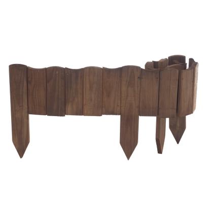 Forest-Style tuinborder Vague bruin 30x110cm