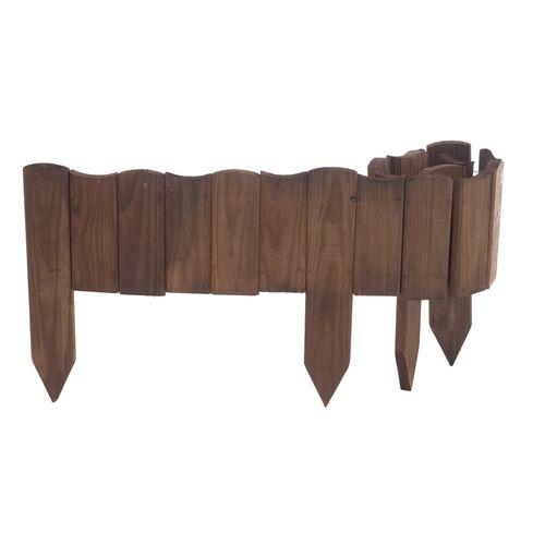 Forest-Styletuinborder Vague bruin 30x110cm