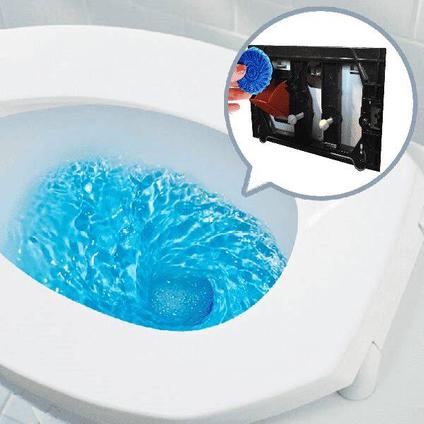 Pastilles de toilette StarBlueDisc pour réservoirs encastrés Geberit bleu 12pcs