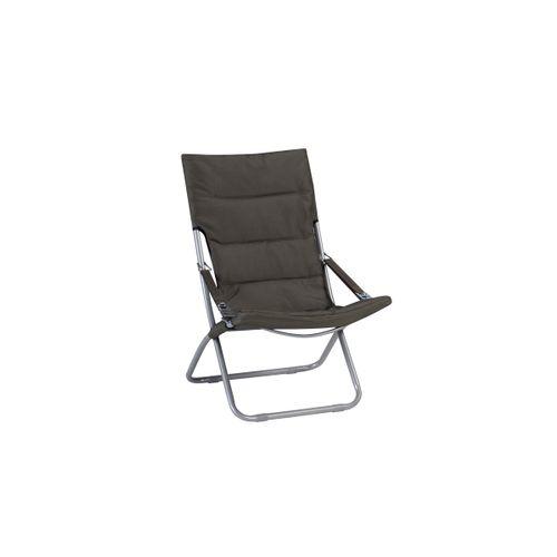 Chaise de jardin Exotan  réglable verte