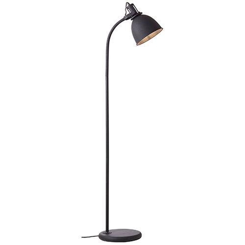Brilliant vloerlamp Jesper zwart E27
