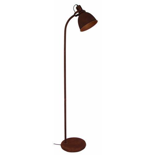 Brilliant vloerlamp Jesper roest 60W