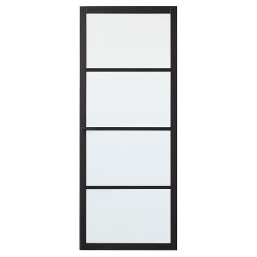 CanDo luxe binnendeur Bradford blank glas 4-ruits stomp 201,5 x 83cm