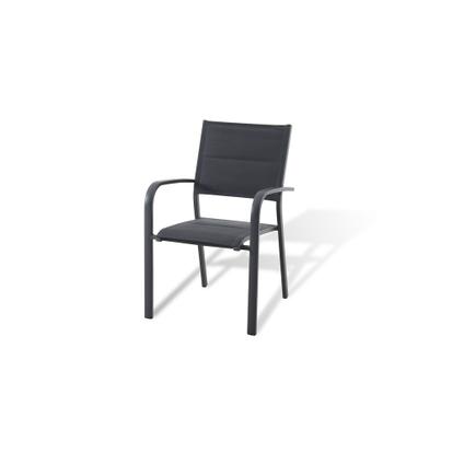 Chaise de jardin Central Park Gabrio anthracite