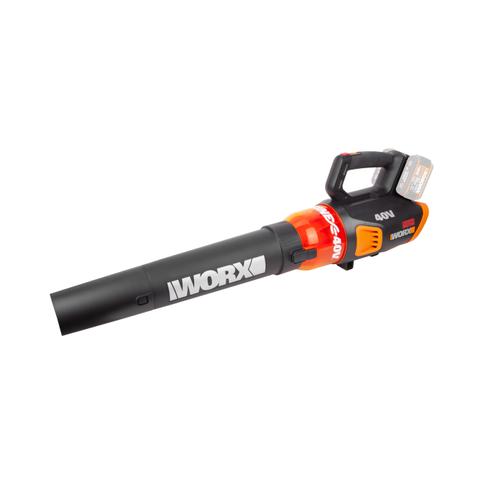Worx bladblazer op accu 'Bare Tool WG584E.9' 40V 4Ah